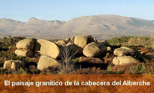 El paisaje granítico de la cabecera del Alberche