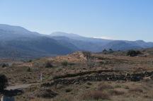Divisoria de aguas e inicio de cuenca de captación.