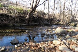 Bolos arrastrados por el río