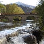 Río Alberche a su paso por Puente Nueva