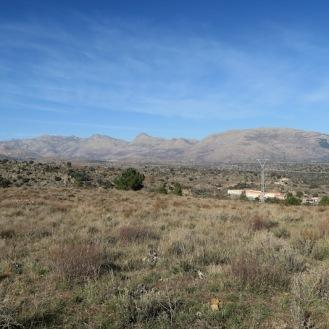 Formas dómicas de granito de la Sierra de la Paramera