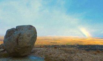 Vista del Valle Amblés desde el cerro de Ulaca