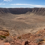 "#Geopostales | El cráter Barringer o ""Meteor Crater"" (Arizona, USA)"