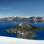 #Geopostales | Crater Lake (Oregon, USA)