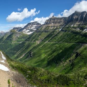 Parque Nacional de los Glaciares, Montana, USA