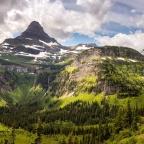 #Geopostales | Picos piramidales o horns en el Parque Nacional de los Glaciares (Montana, USA)