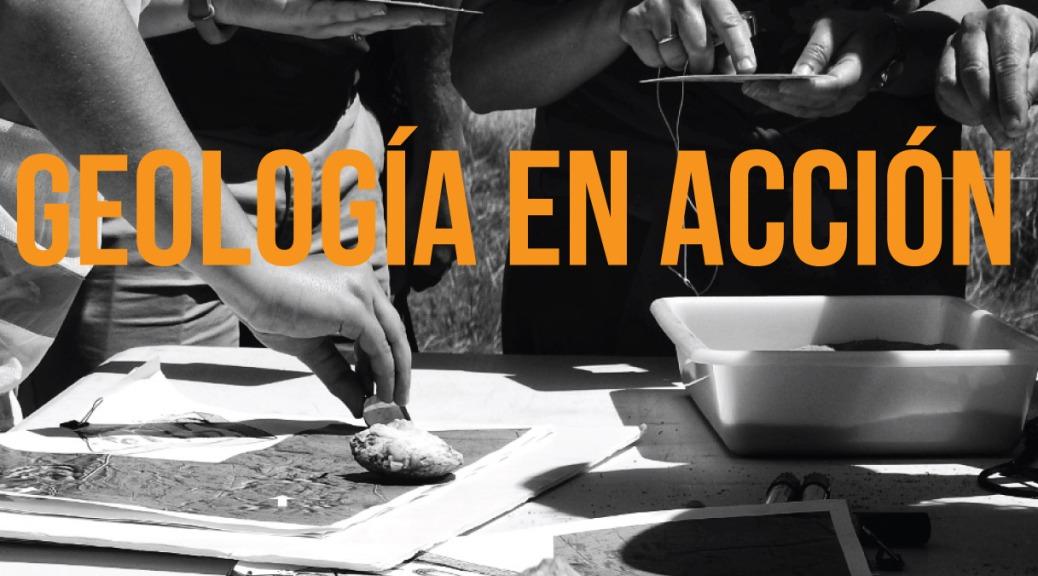 Geología práctica en una de las paradas del Geolodía Ávila 2019 en El Oso. Imagen de Isabel Hernández.