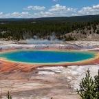 #Geopostales | Parque Nacional Yellowstone (Wyoming, USA). Gran Fuente Prismática