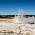 #Geopostales | Parque Nacional Yellowstone (Wyoming, USA). Géiser Clepsydra