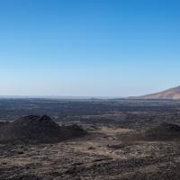 #Geopostales | Erupciones volcánicas y conos de salpicadura en el Monumento y Reserva Nacional Craters of the Moon  (Idaho, USA)