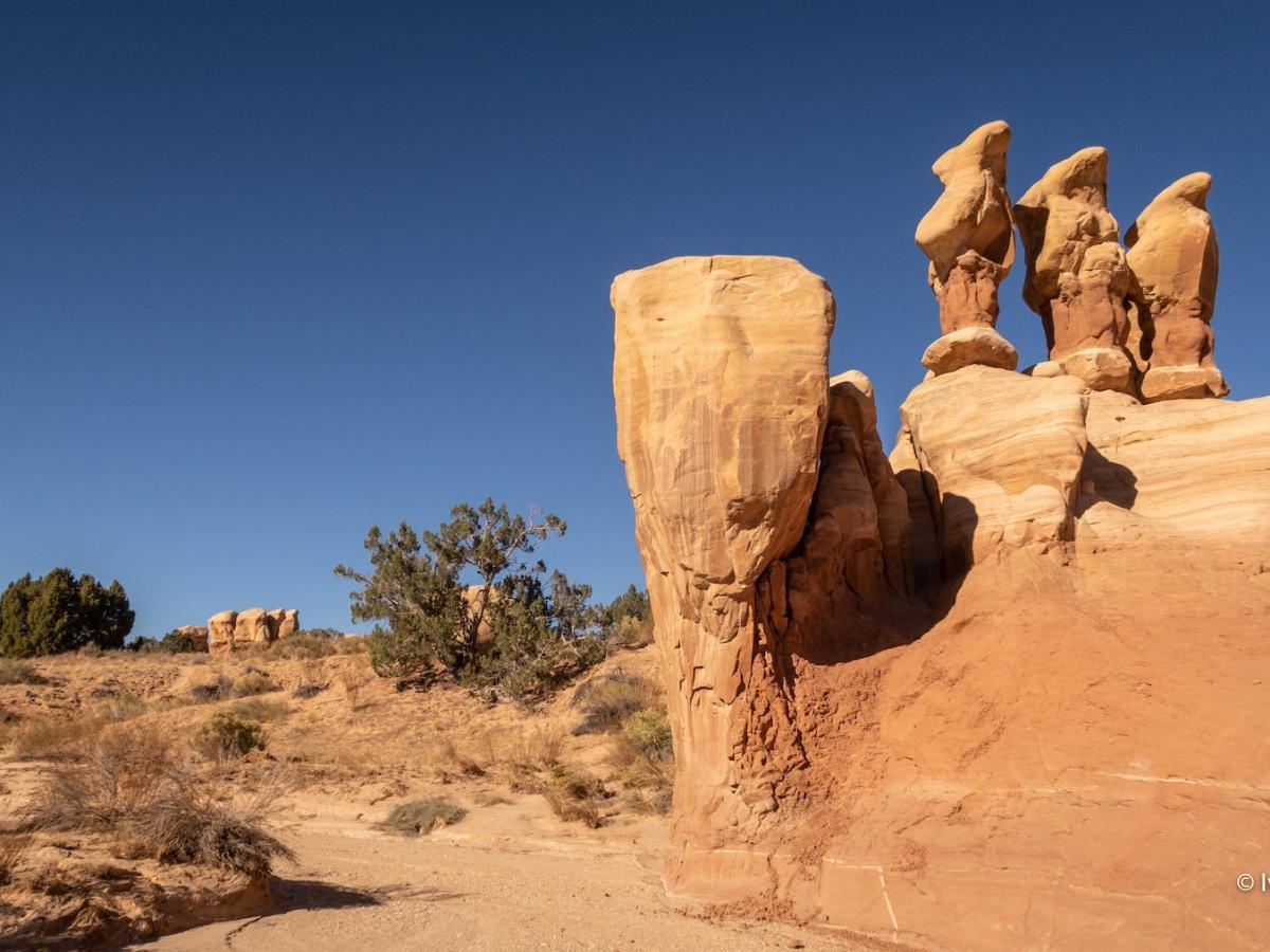 Chimeneas de hadas o hoodoos en el Bryce Canyon National Park, Utah, Estados Unidos. © Iván Pérez López (iplfoto.com)